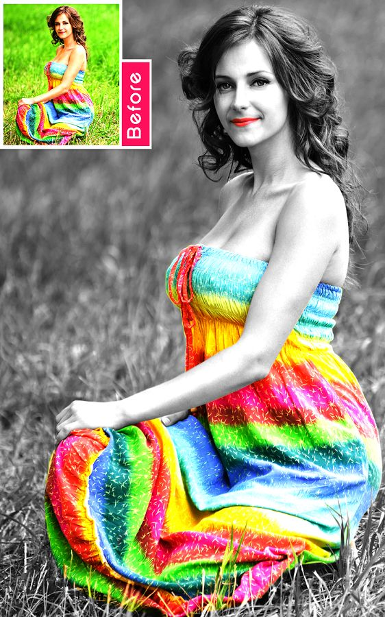 Color Splash Photo app for Android