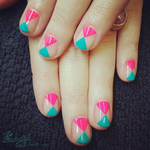 nail art, easy nail art for party, easy nail art, floral nail art, party nail art, easy to do nail art at home, nail art ideas, How to do nail art,  easy nail art at home, nail art ideas, nails, Easy Nail Art At Home