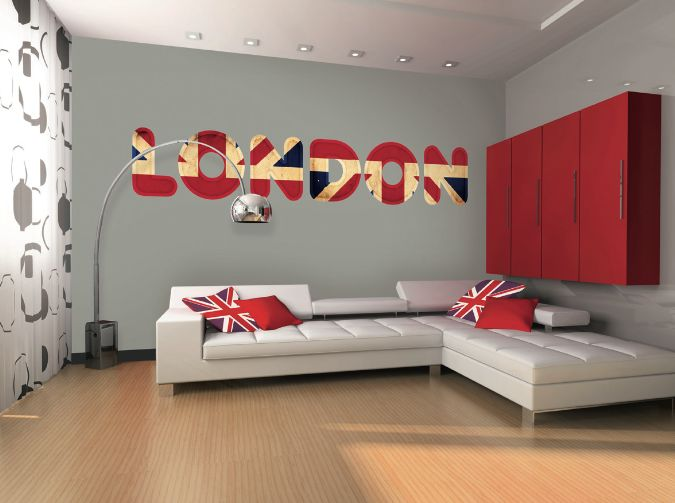 Idee deco chambre londres id e d co chambre londres kamer idees pinterest deco stickers for Idee deco kamer