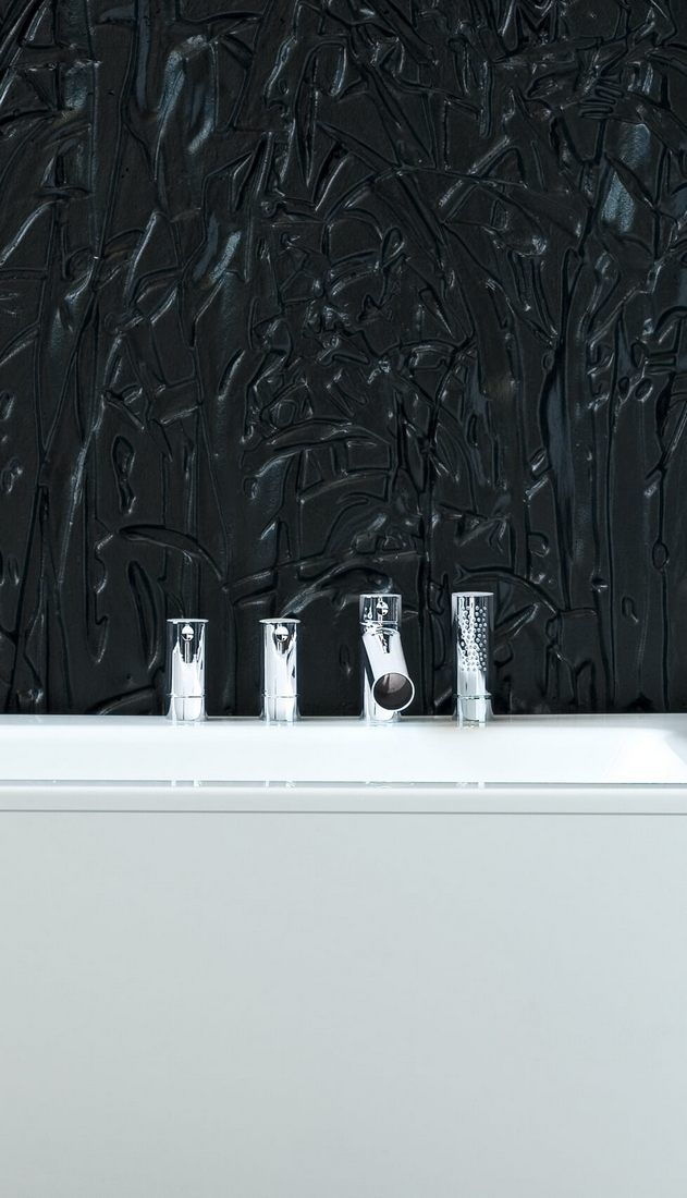 Remarkable bath faucet by #Oras from #Alessi #DOT collection