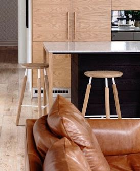 In one of our projects...the Raft stool from Great Dane