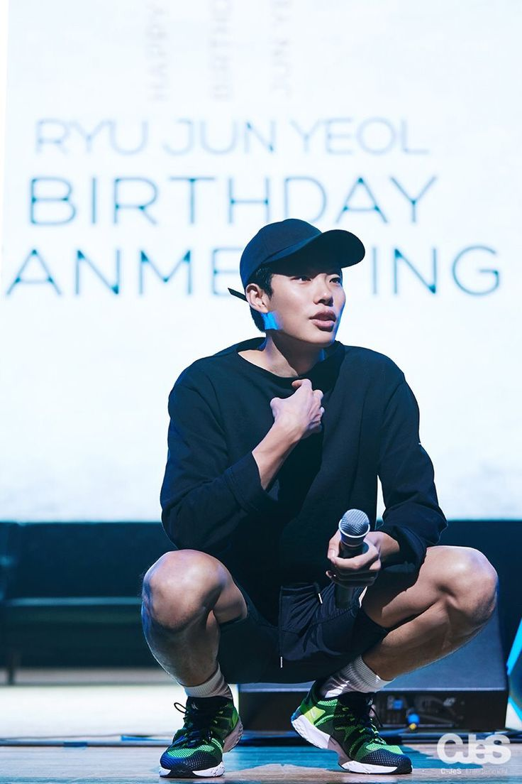 Ryu Jun Yeol Bday Fanmeeting