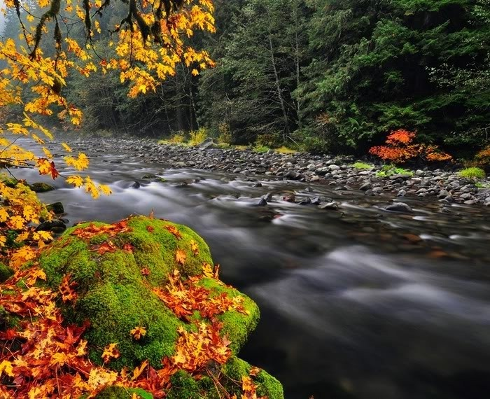World's most beautiful rivers.