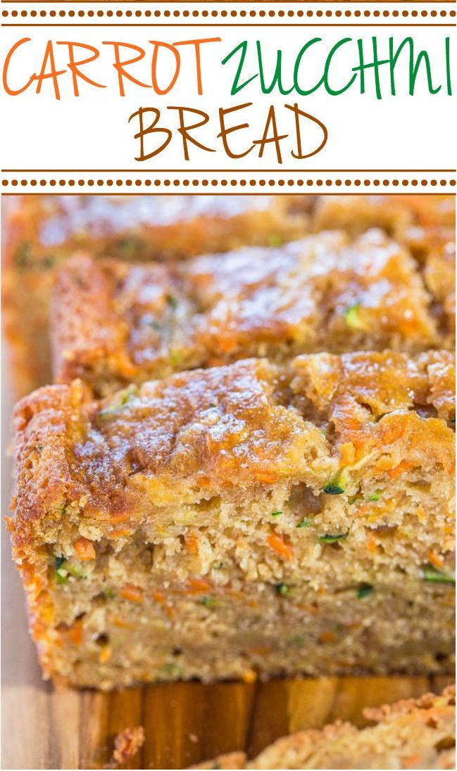 recipe: healthy carrot bread recipe [27]