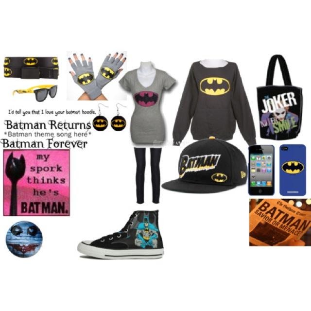 "Batman!!!!!!! Haha I love the "" my doorknob thinks he's batman"""