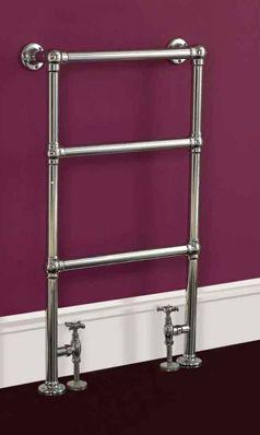 Phoenix Elizabeth Traditional Floor Standing Bathroom Heated Towel Rail Radiator - 914 X 535mm