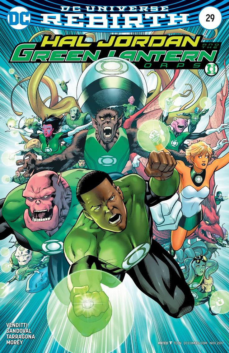 Hal Jordan And The Green Lantern Corps Issue #29 - Read Hal Jordan And The Green Lantern Corps Issue #29 comic online in high quality