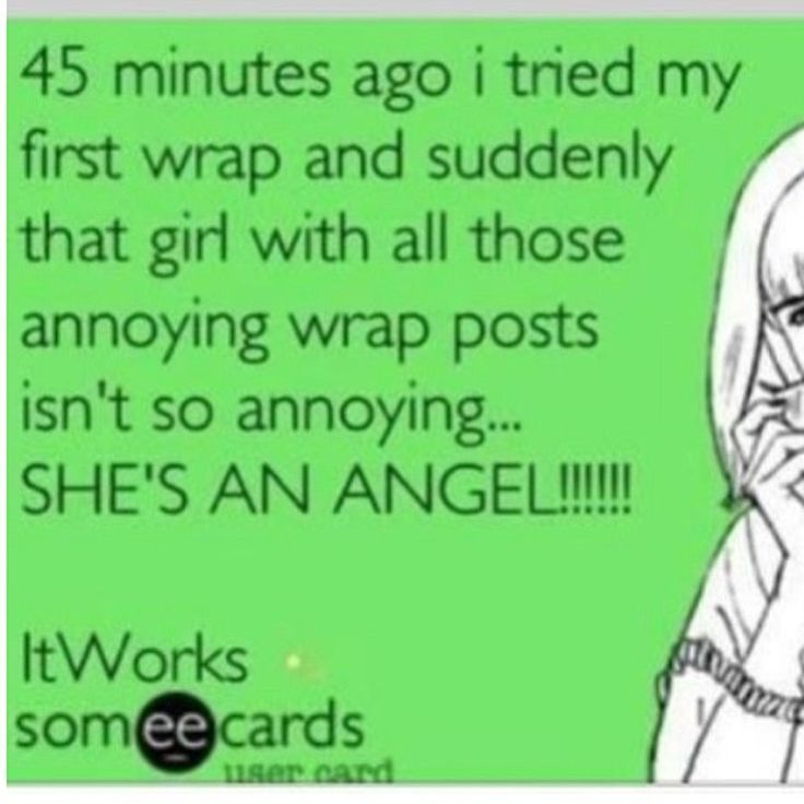 It Works! Wraps :) contact me ASAP or my website jameyrmaclean.myitworks.com