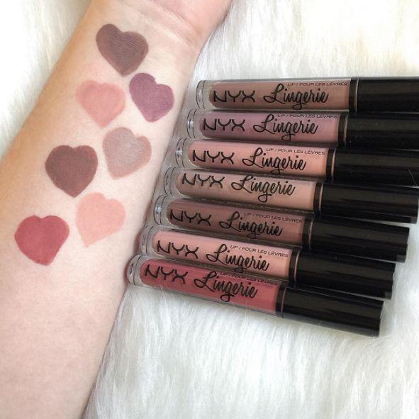 Les rouges à lèvres Lingerie de NYX à 7€ | 18 produits de beauté pas chers et efficaces que vous nous avez recommandés