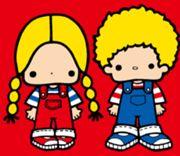 Patty And Jimmy by Sanrio  (tra i personaggi più vecchi e più old style di Sanrio)