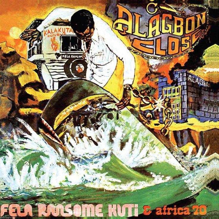 Fela Kuti - Alagbon Close on LP