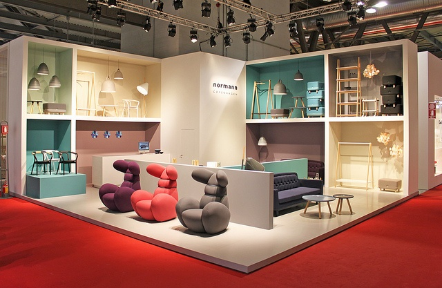 321 best exhibition stand images on pinterest - Fiera del mobile bologna ...