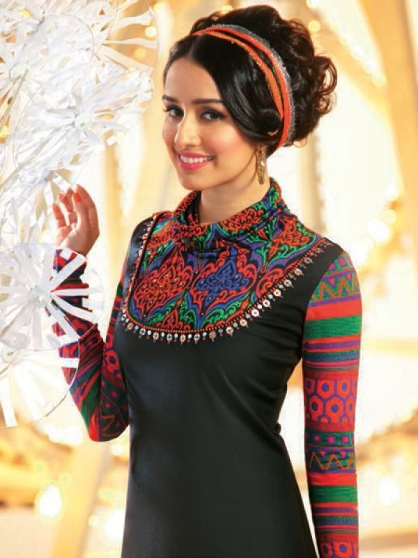Shraddha Kapoor for Global Desi http://www.globaldesi.in/ Fashion