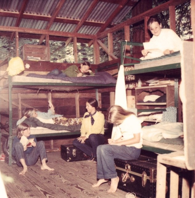 Old School Camp pic from the 70's