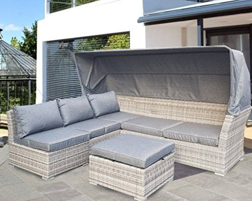 The 25+ best ideas about Strandkorb Grau on Pinterest Balkon - gartenmobel polyrattan grau