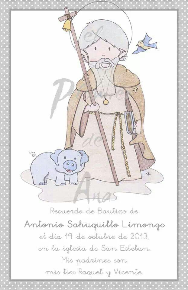 Para Antonio, su Santo: Sant Antoni del Porquet o San Antonio Abad, así no se sentirá solo.
