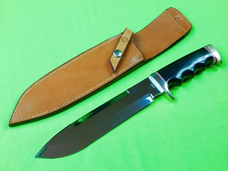 Custom Hand Made Harold Corby Large Fighting Knife