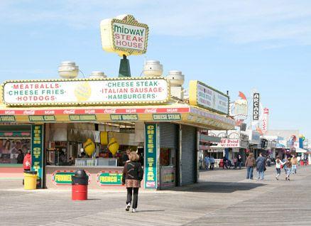 Seaside Heights Nj Best Steak Sandwich On The Boardwalk