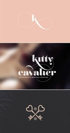 I like the personalized font treatment and it's girly, but the grey toughens it up. 2014_branch_kitty_cavalier