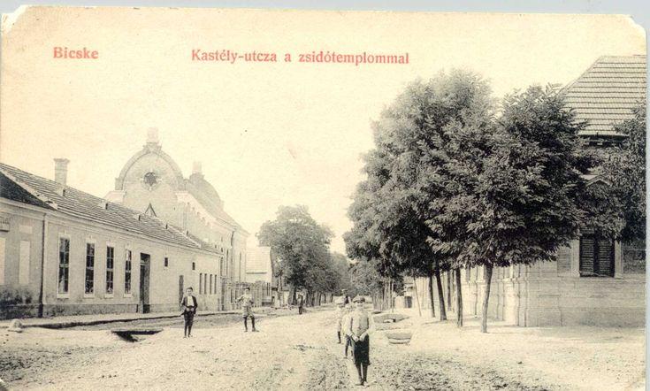 A bicskei zsinagóga, a volt Kastély-, ma Ady Endre utcában