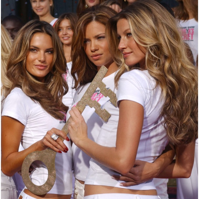 """Victoria's Secret hair""- because we all want hair like that."
