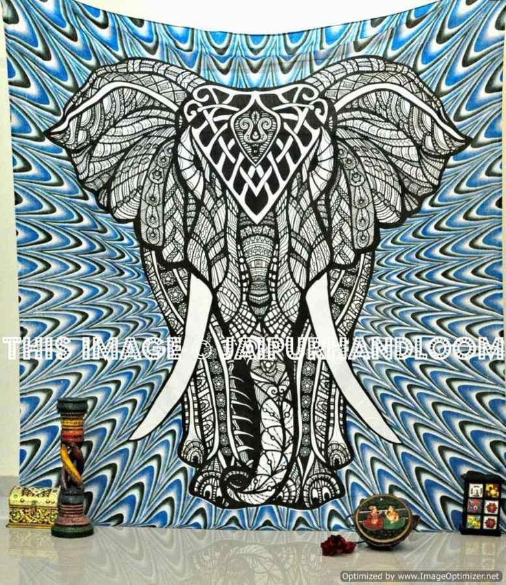 Elephant Tapestry Wall Hanging pinterest'teki 25'ten fazla en iyi elephant tapestry fikri | duvar