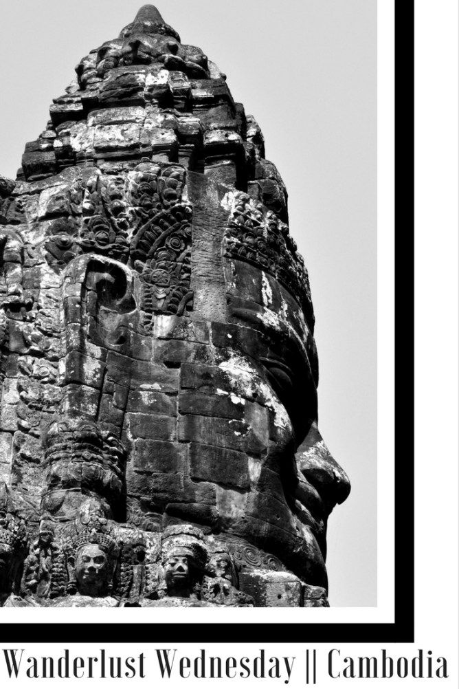 Wanderlust Wednesday || Cambodia - Angkor Wat Cambodia Temple