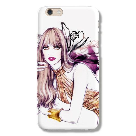 Miss Magenta iPhone 6 case from The Dairy www.thedairy.com #TheDairy #PhoneCase #iPhone6 #iPhone6case