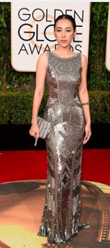 jane wu in #theia couture