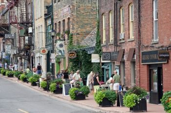 Stratford, Ontario. Great theatre, great food, great shops.