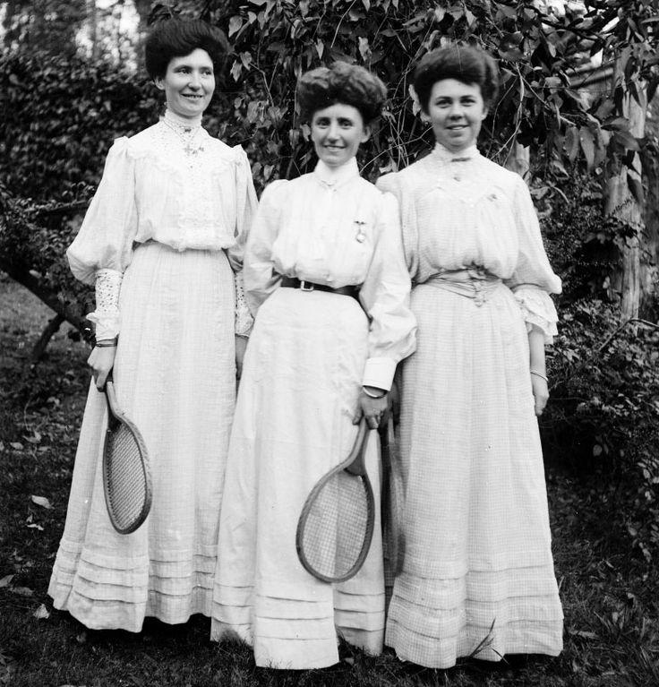 1910 tennis frocks