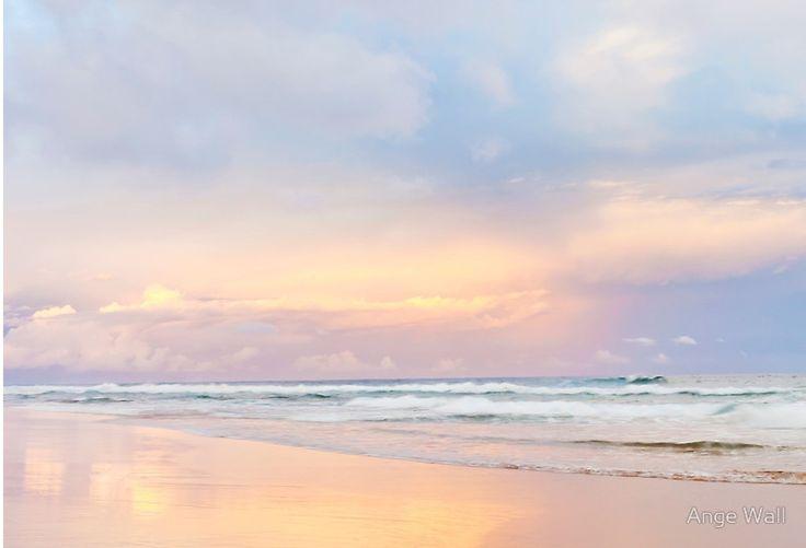 the pastel sunset