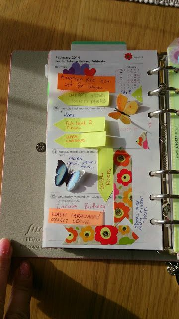 Sorting out forty : Filofax Retro Bloom & Butterflies