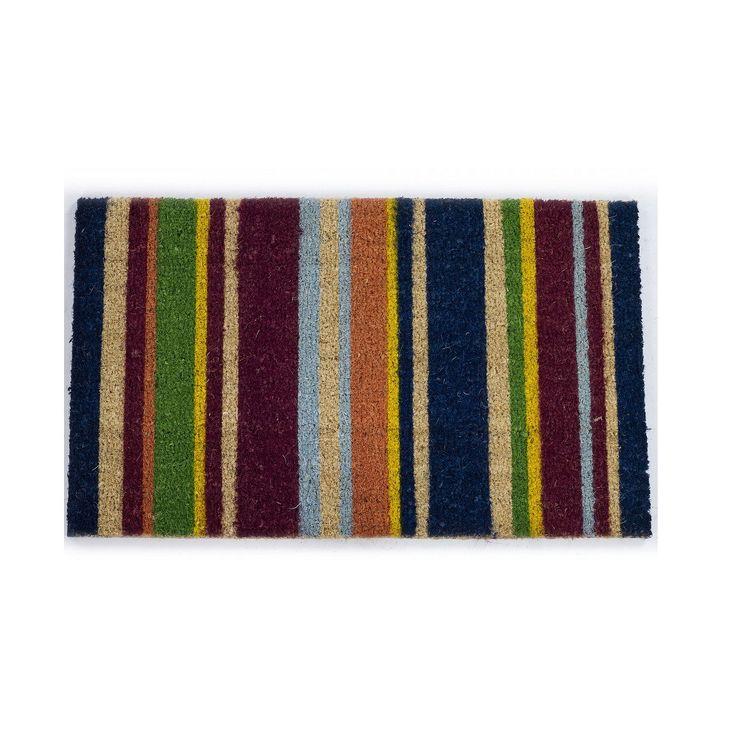 Iris Tapete de Entrada de Fibra de Coco - Multicolor – Alameda