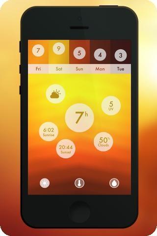 Neu erschienen: Haze - grandiose Wetter-App | AppGuide - Die besten iPhone Apps