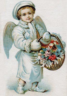 Vintage Angel Clip Art Free   lördagen den 23:e oktober 2010