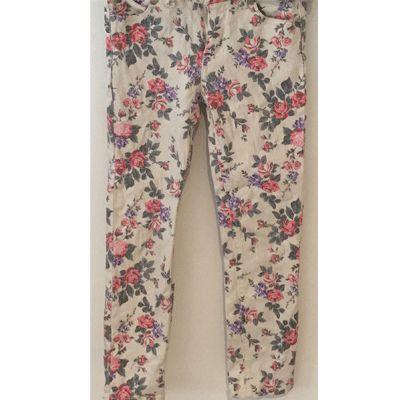 Closet Collection - Floral Jeans