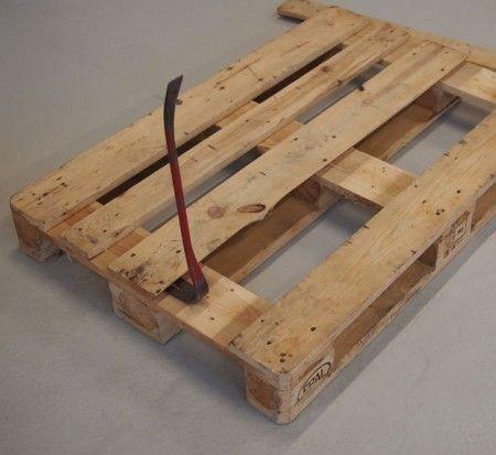 Como hacer banquetas de madera con palets for Banquitas de madera para jardin