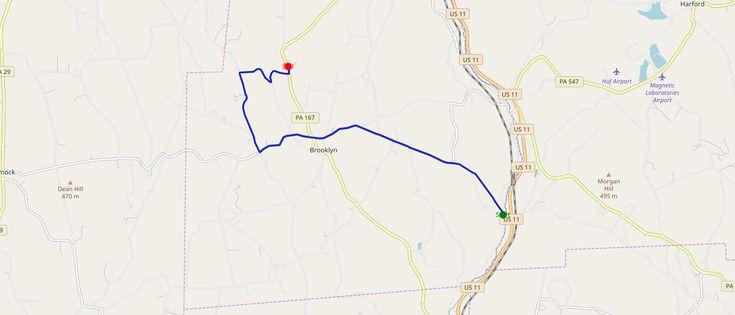 Again, a track similar to the Valencia Trail (Spain) ... near Scranton and Binghampton!   #run #running #instarunning #runners #courseapied #footing #laufen #correr #correre #happyrunner #trail #trailrunning #10k #valencia #scranton #Binghampton