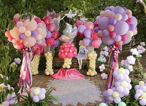 Decoracion con globos my little pony pinterest for Arreglo del jardin