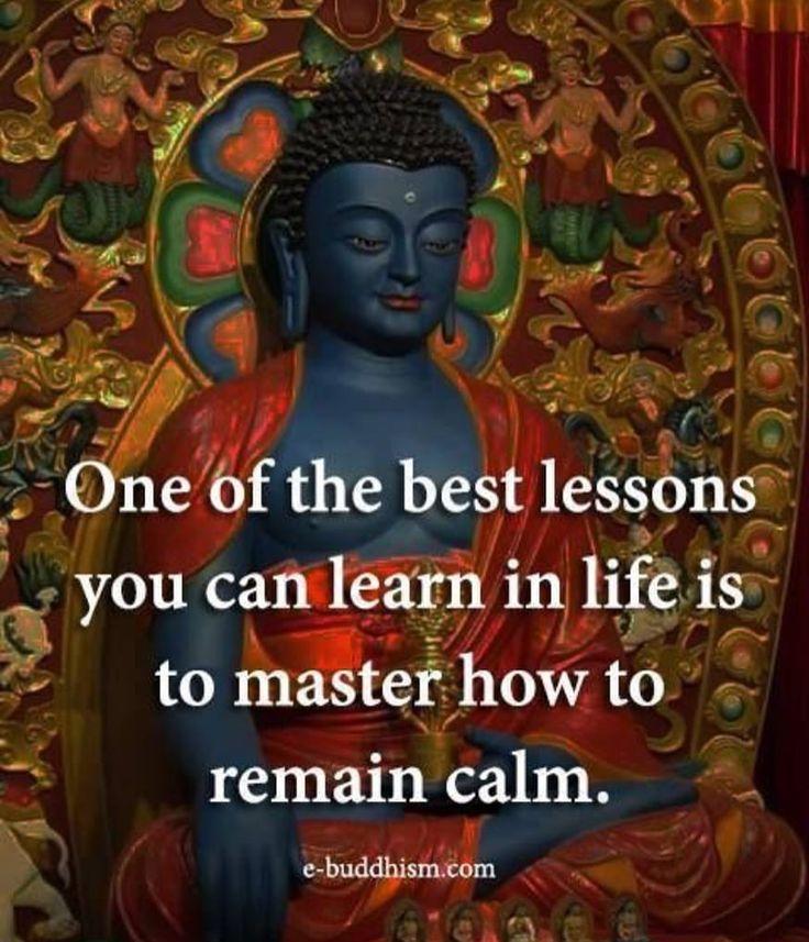 Life lessons, buddha, calm