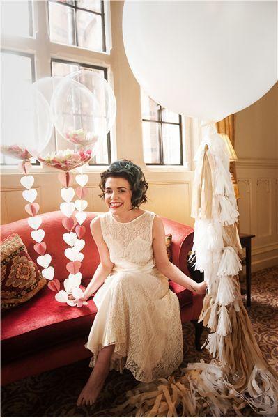 紙ふぶき入りの風船♩身近な素材でコンフェッティバルーンをDIY! | marry[マリー]