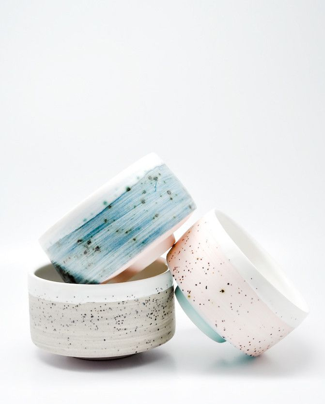 my latest collaboration with ben fiess! tea bowl / $34 each