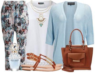 Een luchtige broek is ideaal voor de zomer. Combineer hem met een eenvoudige top en een comfi vestje voor een super outfit!