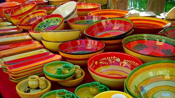 Провансальская керамика - рынки в Провансе