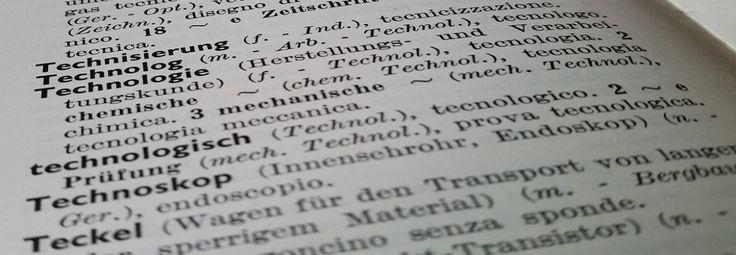 GLOSSARISSIMO - stránka s odkazmi na glosárev rôznych odboroch a jazykoch