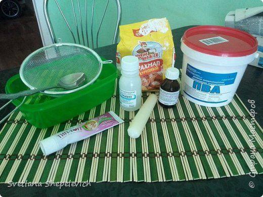 Привет всем) Вот решила выложить свой рецепт холодного фарфора. Ну как свой... Он общий, так как было изучено много сайтов и рецептов) фото 2