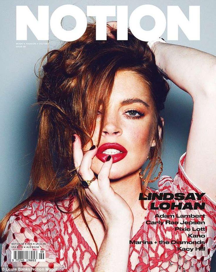 Lindsay Lohan. Notion 69
