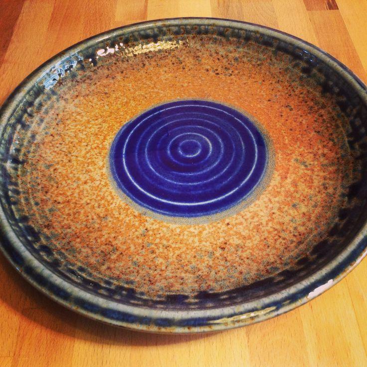 Piatto in ceramica giapponese www.artigianatogiapponese.it