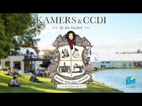 Kyk ons eerste TV-advertensie vir KAMERS & CCDI by die Kasteel 2014 - In samewerking met kykNET
